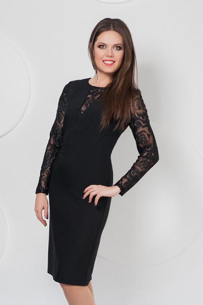 Платье П-486