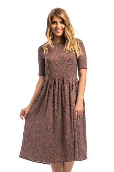 Платье из вискозы, П-517